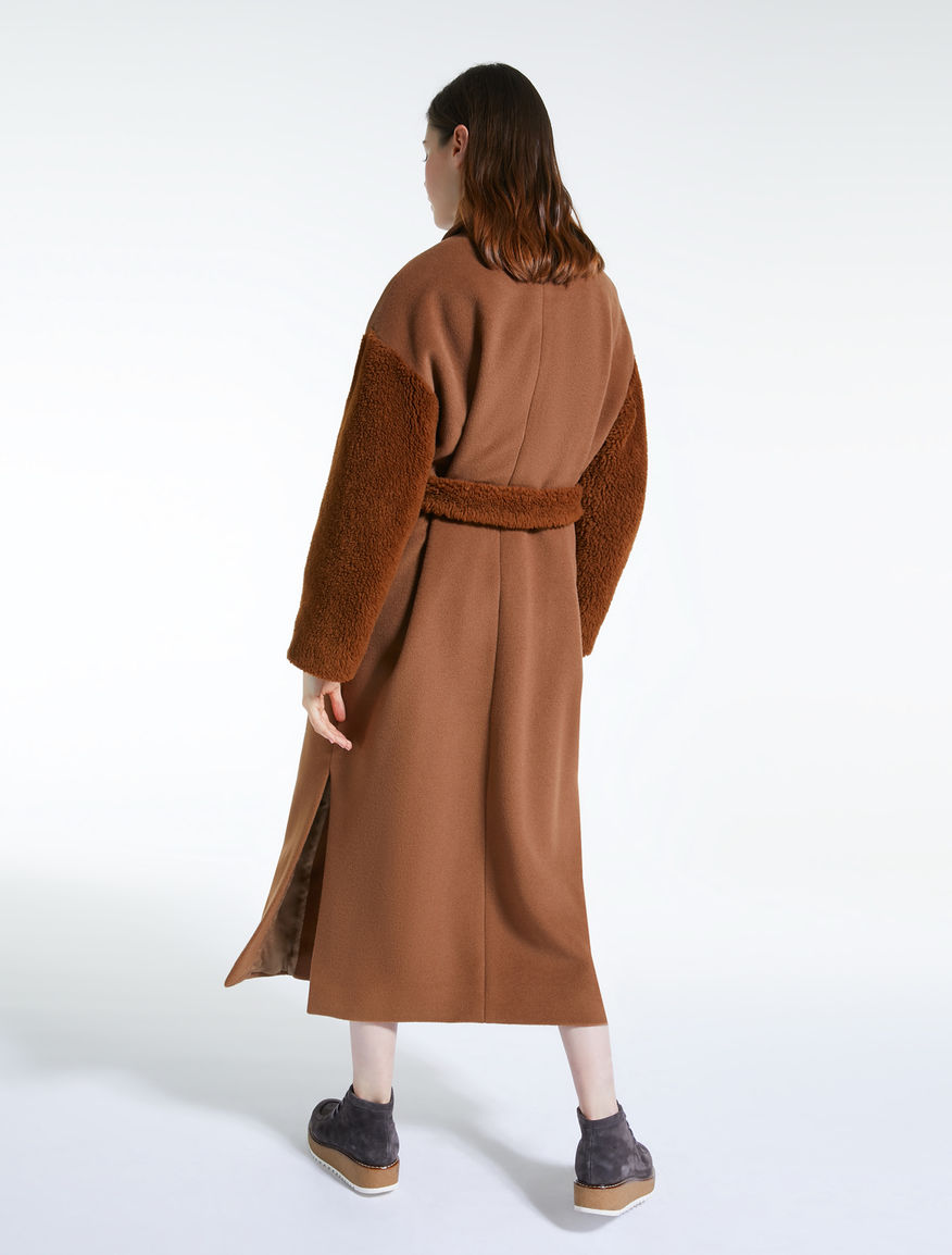 Beaver wool coat Weekend Maxmara