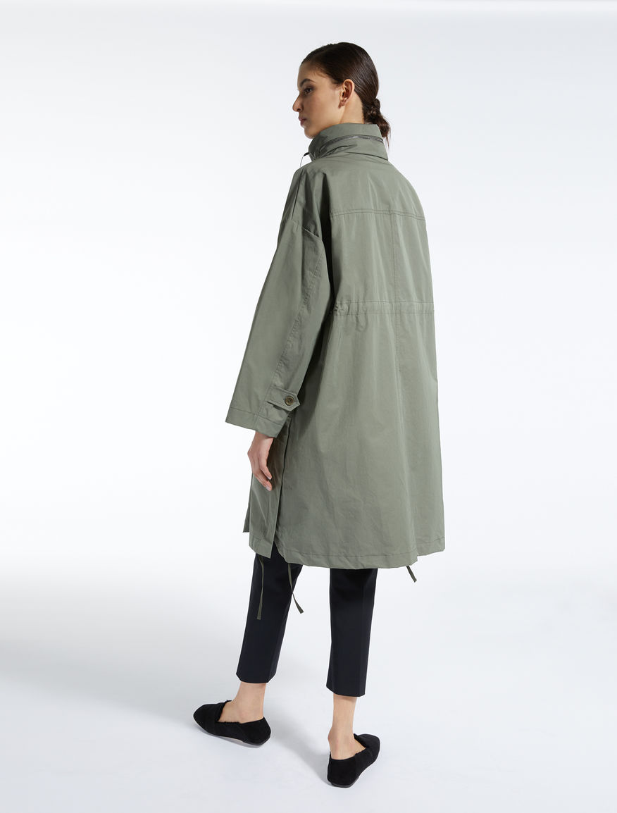 Water-repellent gabardine parka Weekend Maxmara