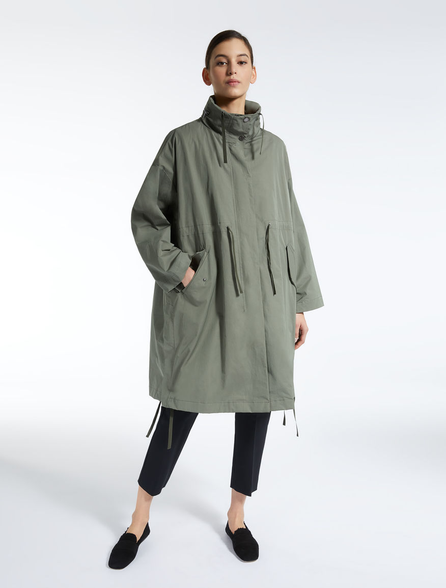 Parka in gabardina antigoccia Weekend Maxmara