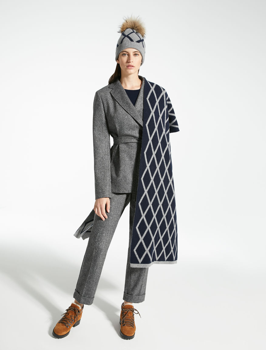 Tweed wool and silk blazer Weekend Maxmara