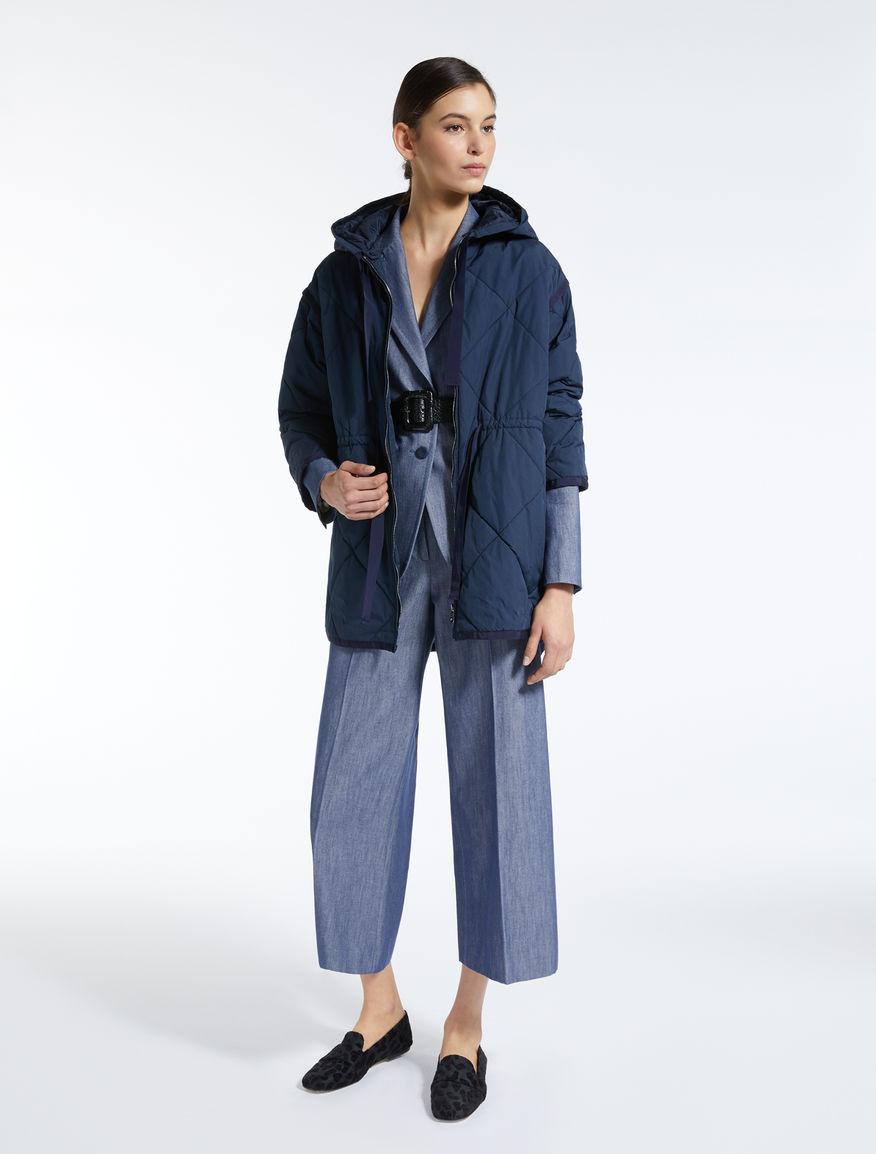 Denim-effect cotton blazer Weekend Maxmara