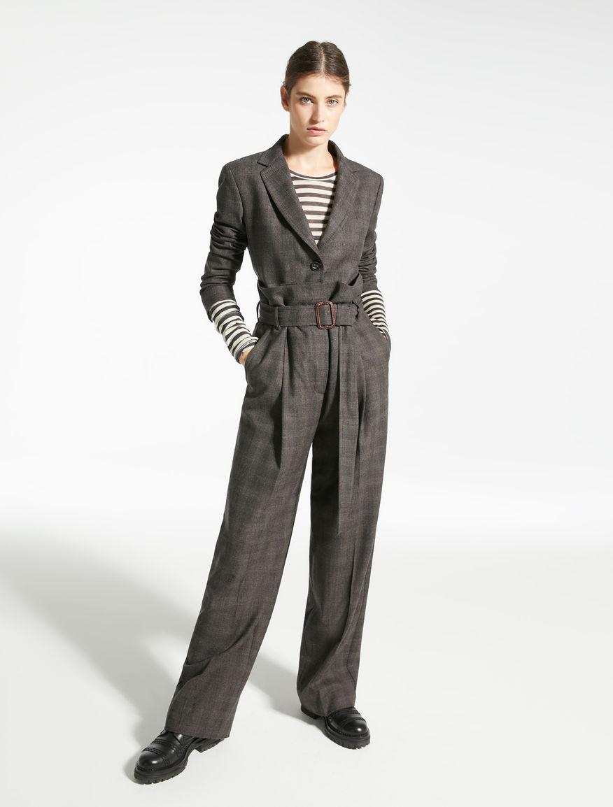 Wool flannel blazer Weekend Maxmara