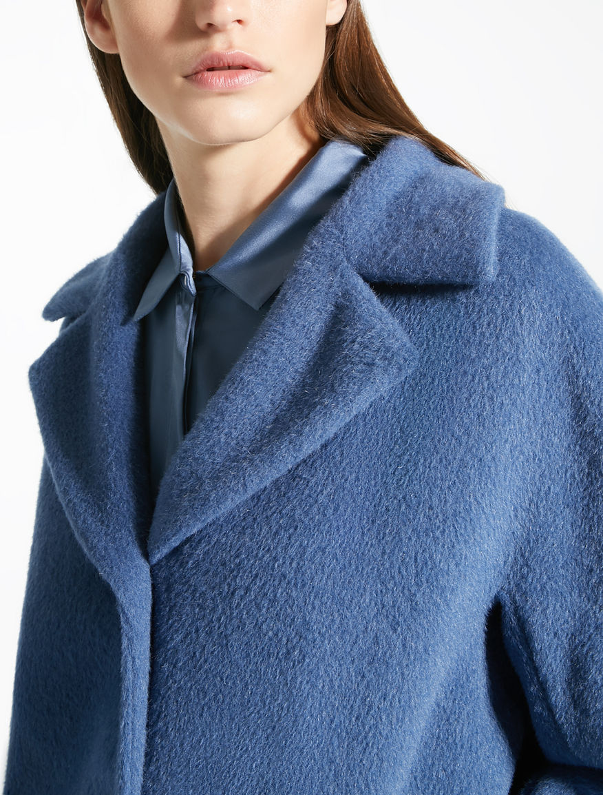 Cappotto in orsetto di alpaca e lana Weekend Maxmara