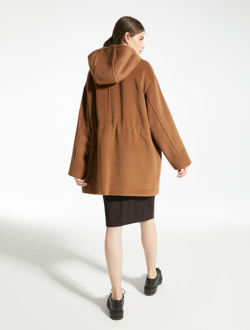 Parka in beaver di lana Weekend Maxmara
