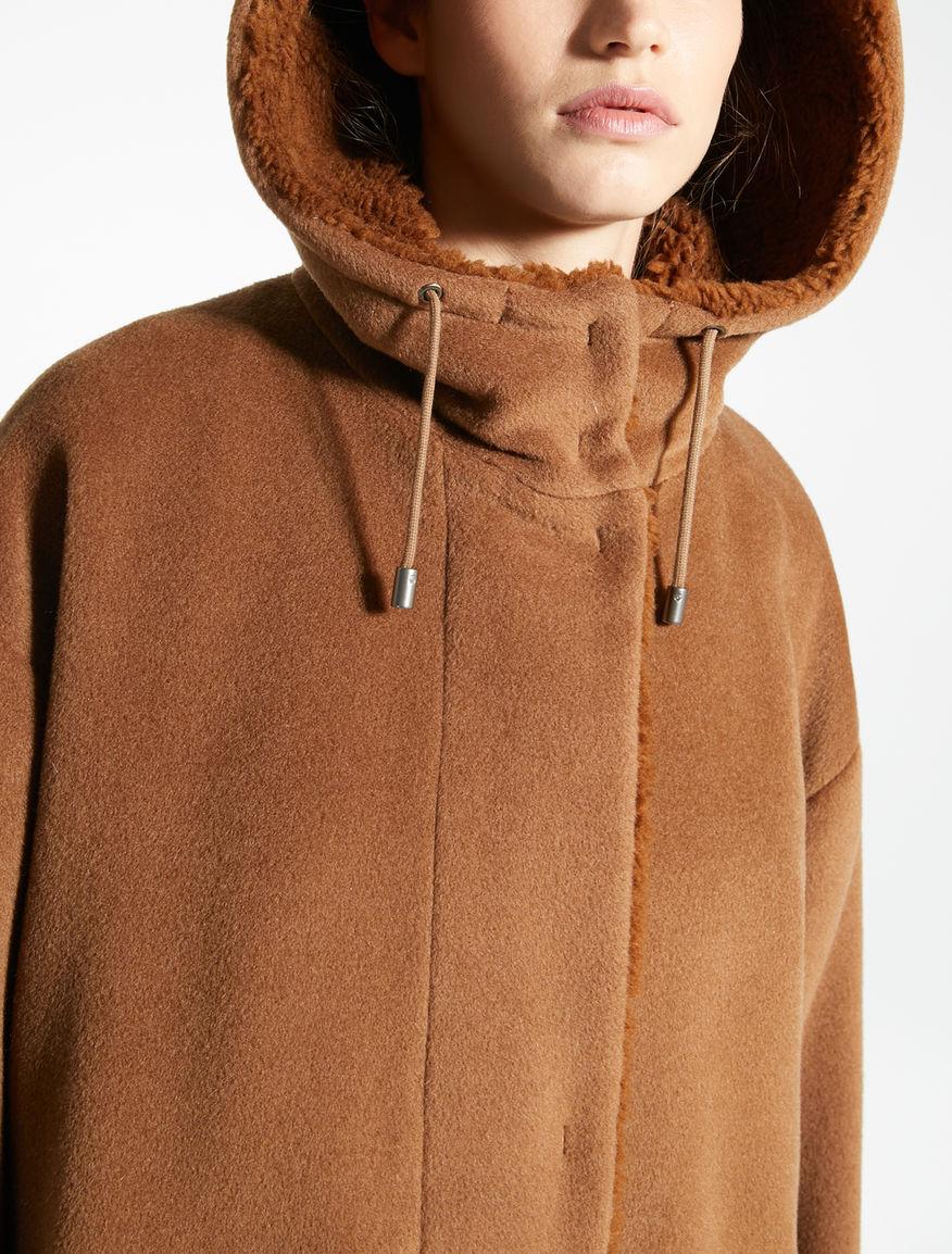 Parka in beaver di lana Weekend Maxmara