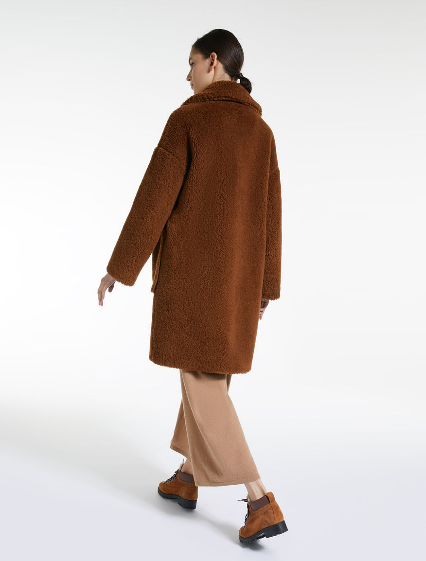 Faux-fur wool coat Weekend Maxmara