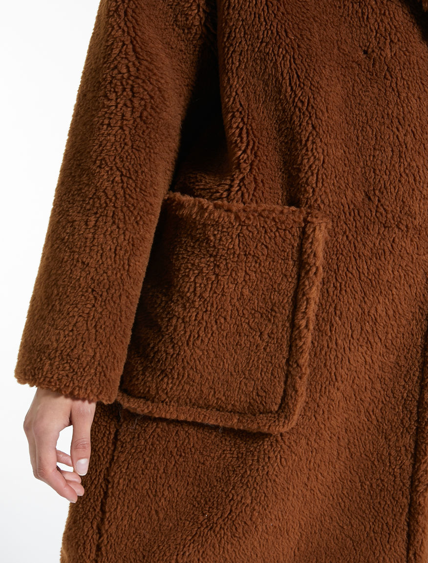 Giaccone in lana effetto pelliccia Weekend Maxmara