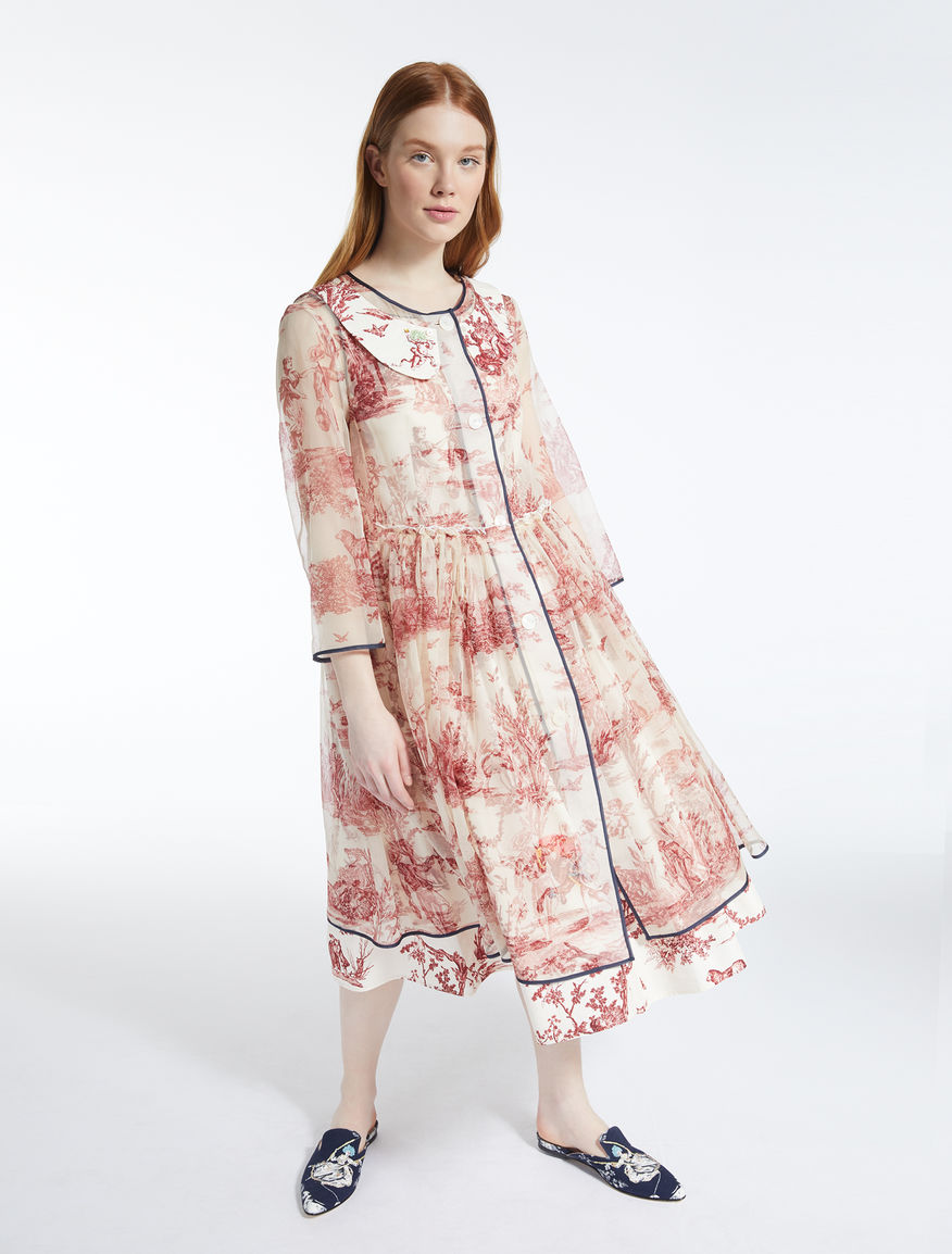 Silk organza duster coat Weekend Maxmara