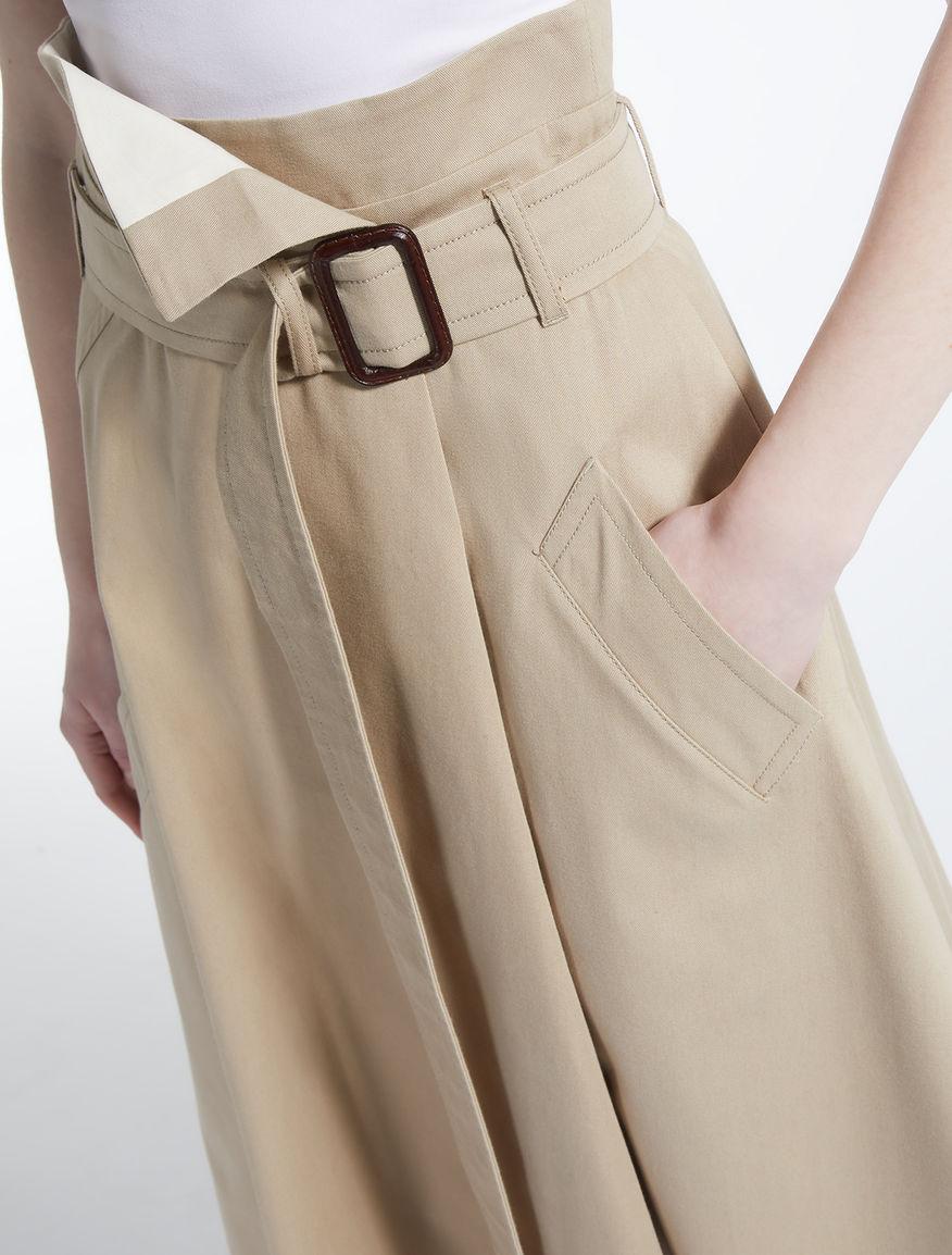 Cotton drill skirt Weekend Maxmara