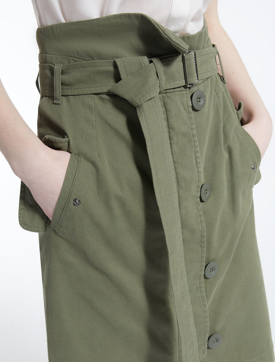 Bull cotton skirt Weekend Maxmara