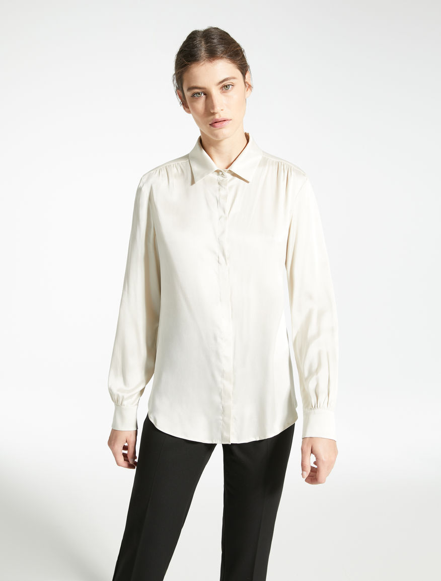 Camicia in raso di seta Weekend Maxmara