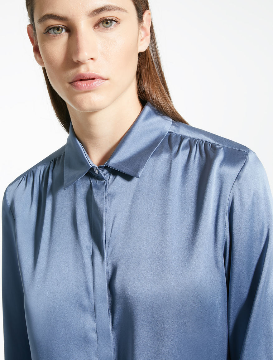 Silk satin shirt Weekend Maxmara