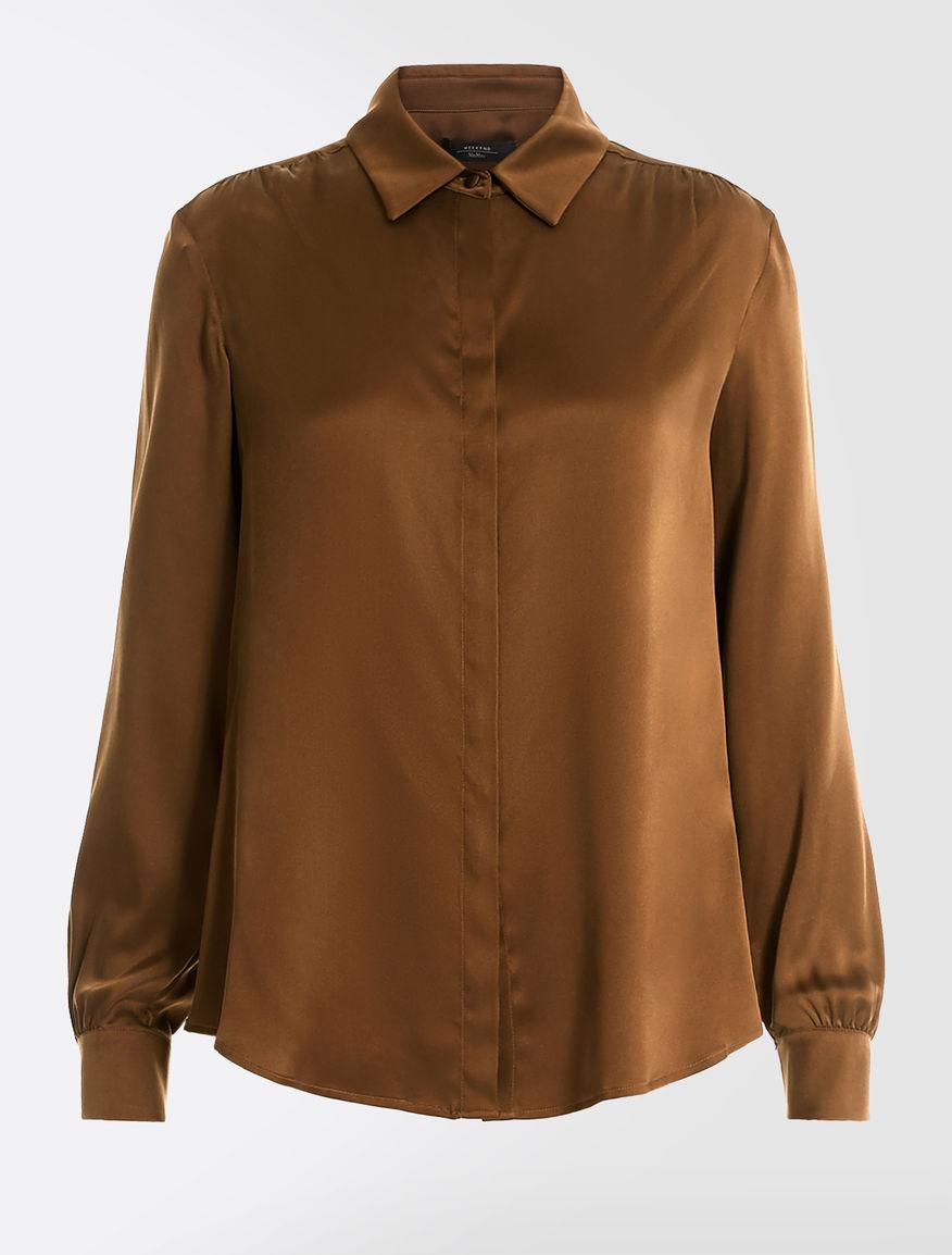 Silk satin shirt Weekend Maxmara