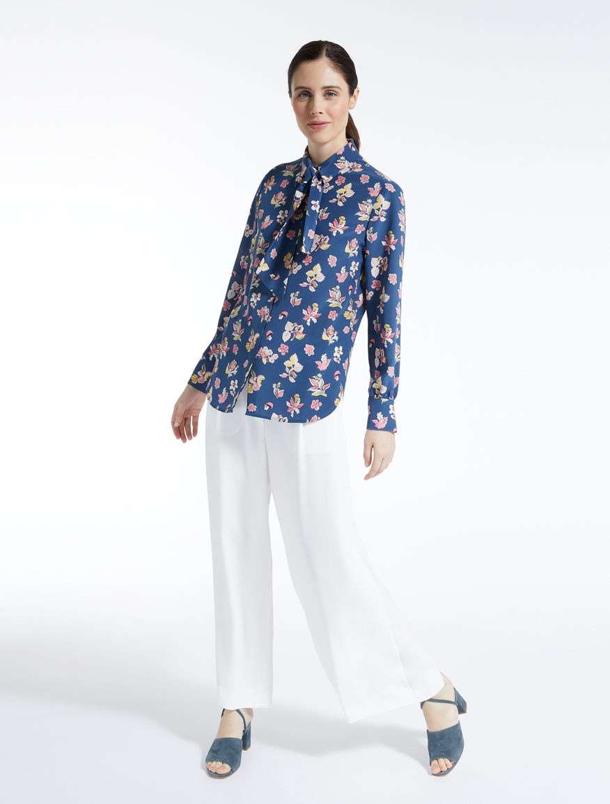 Silk crepe de chine shirt Weekend Maxmara
