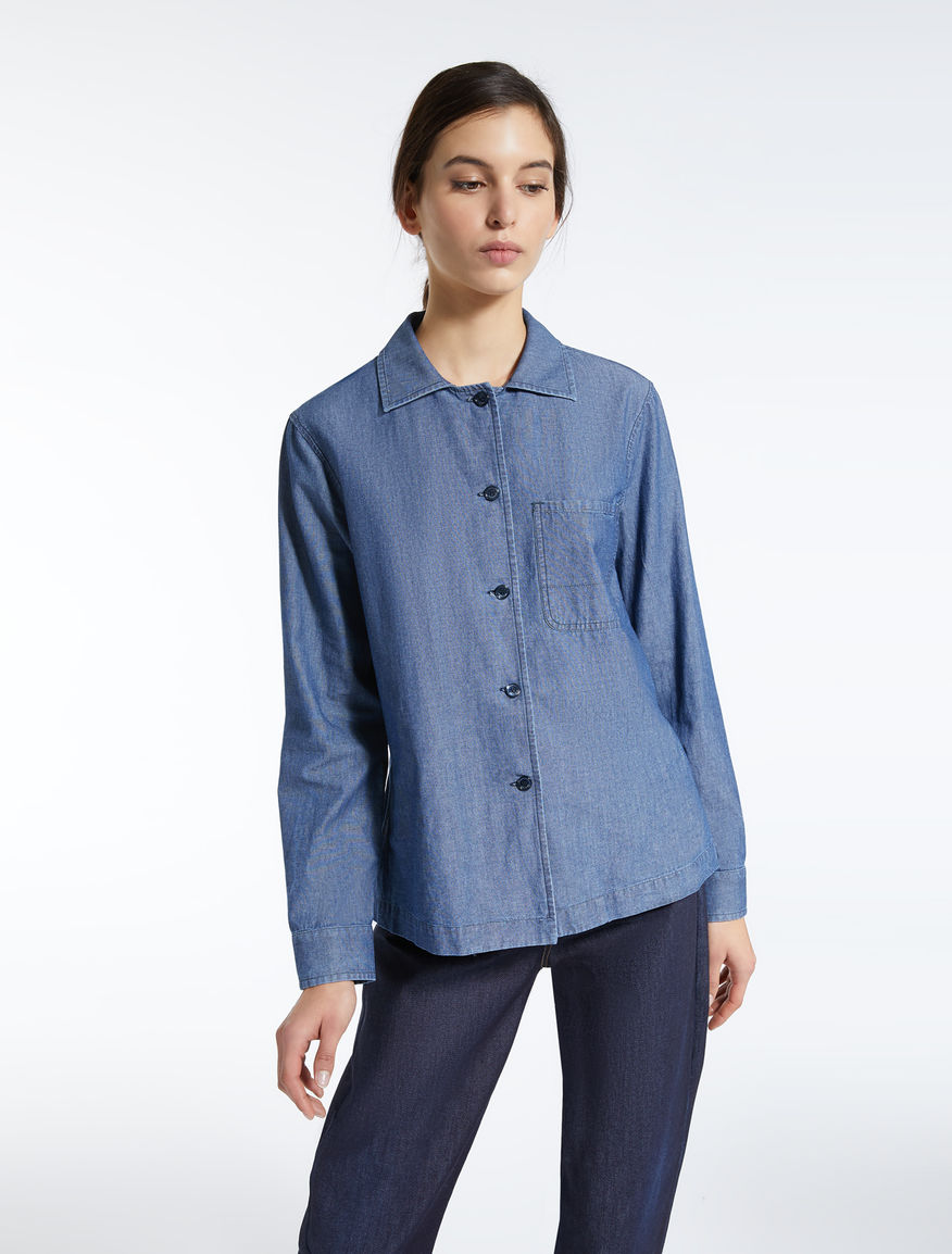 Cotton denim shirt Weekend Maxmara