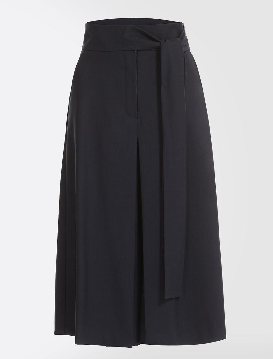 Wool gabardine trousers Weekend Maxmara