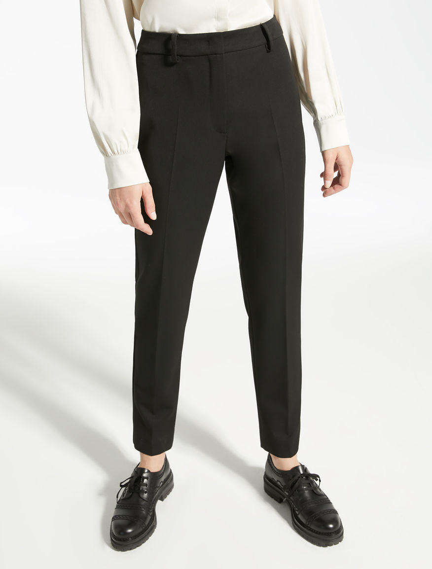 Pantaloni in gabardina stretch Weekend Maxmara