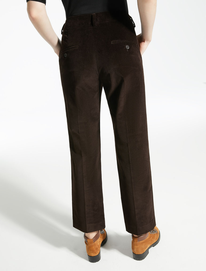 Pantaloni in velluto stretch Weekend Maxmara