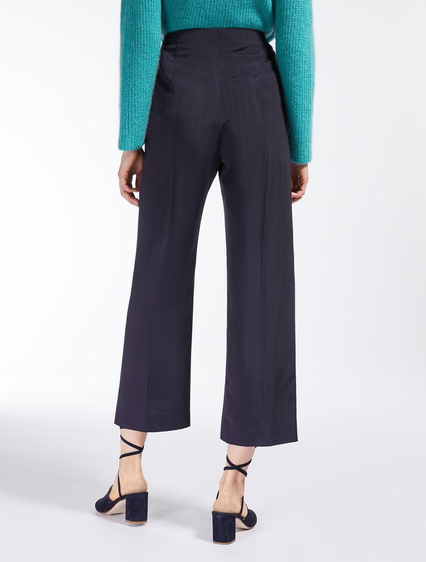 Pantaloni in faille di viscosa Weekend Maxmara