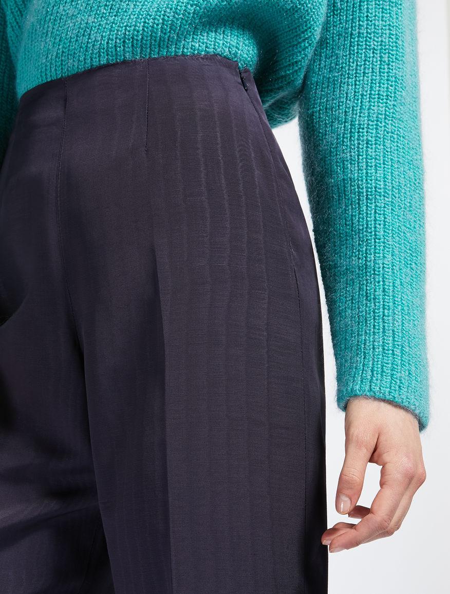 Viscose faille trousers Weekend Maxmara