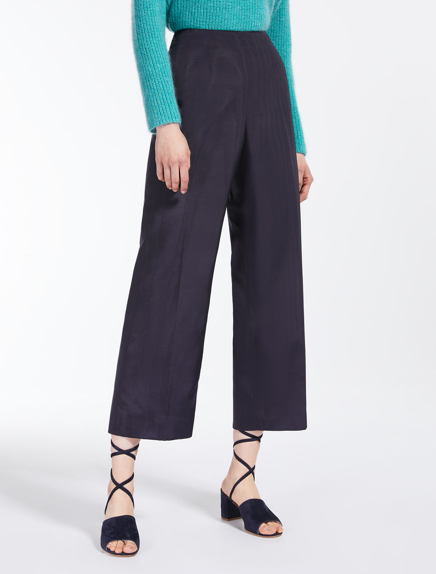 Pantaloni in faille di viscosa Weekend Maxmara