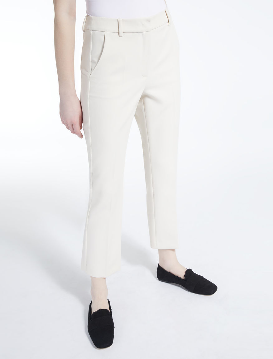 Pantaloni in cady di viscosa Weekend Maxmara