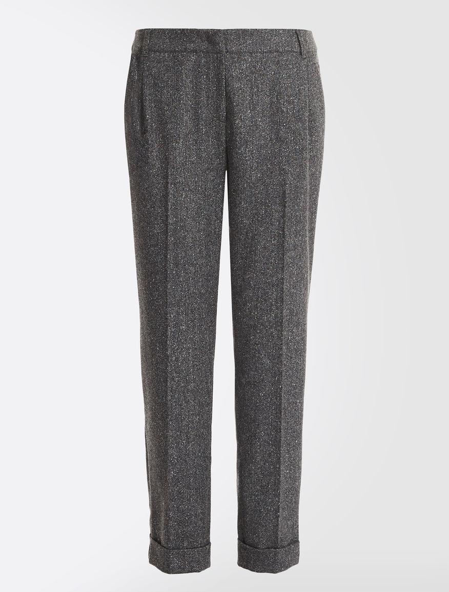 Tweed wool trousers Weekend Maxmara