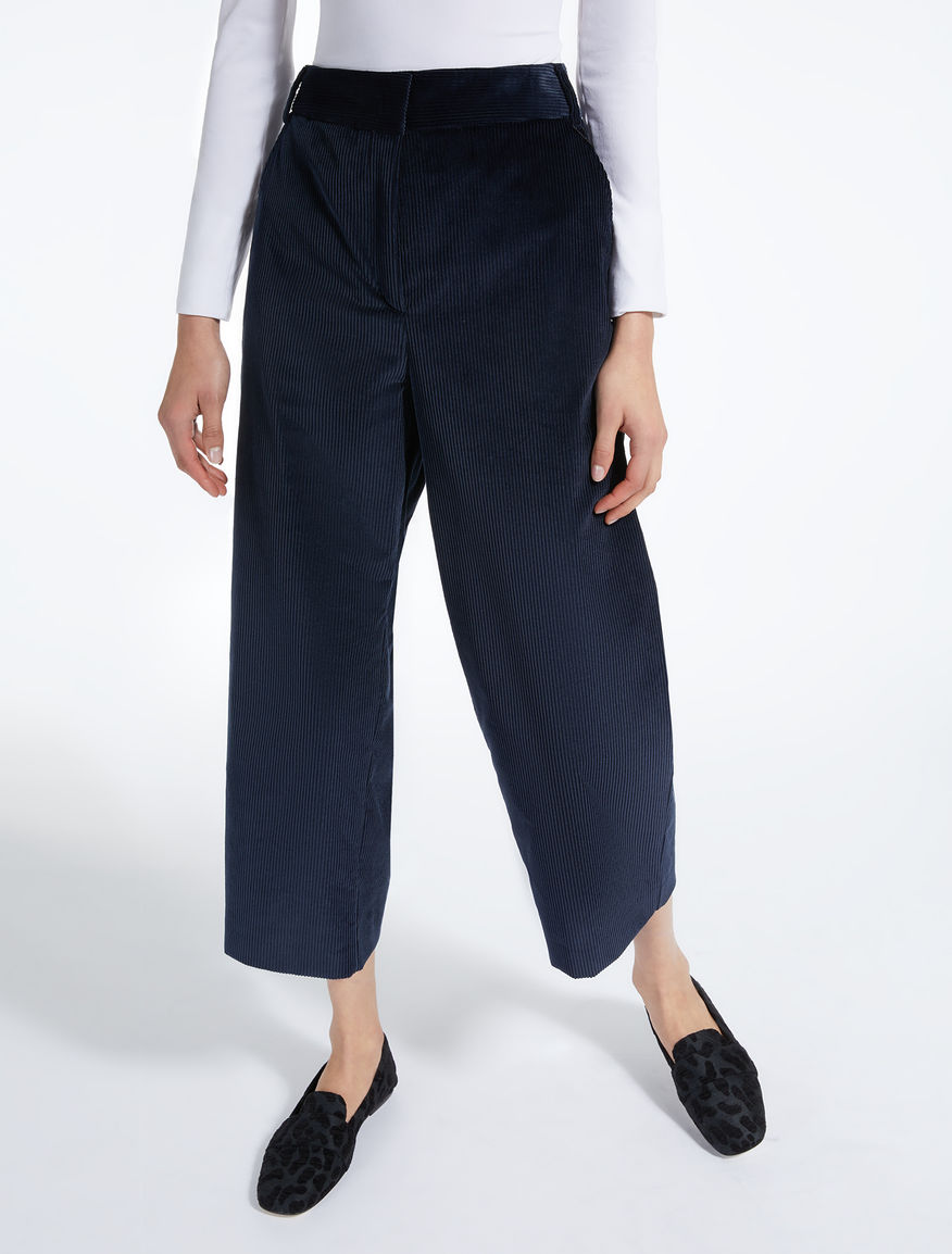 Velvet trousers Weekend Maxmara