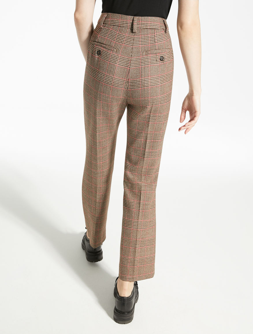 Pantaloni in batavia di lana Weekend Maxmara