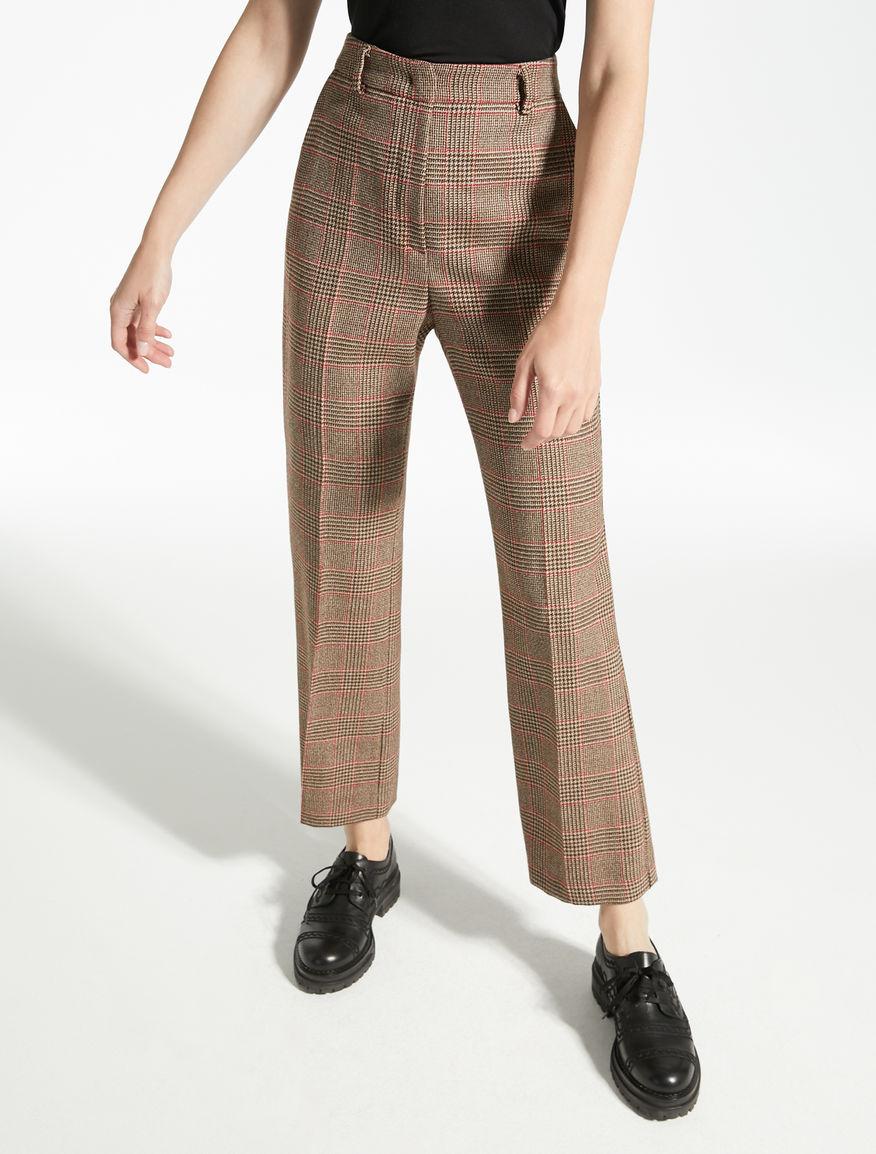 Pantaloni in batavia di lana Weekend Maxmara