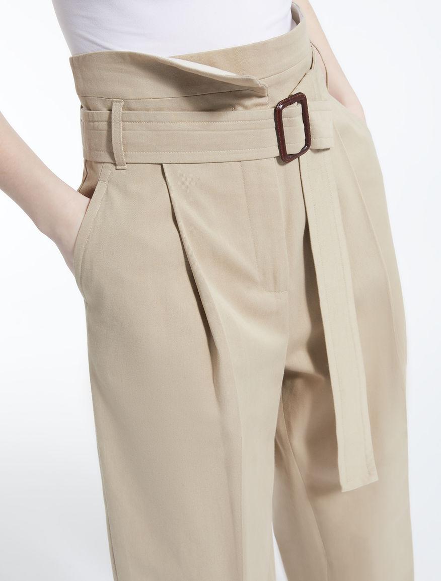 Pantaloni in drill di cotone 93362051877