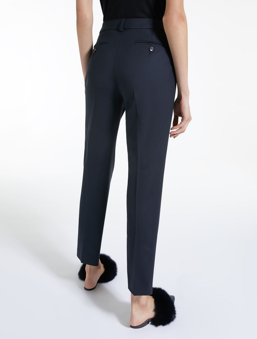 Wool gabardine trousers Weekend Maxmara