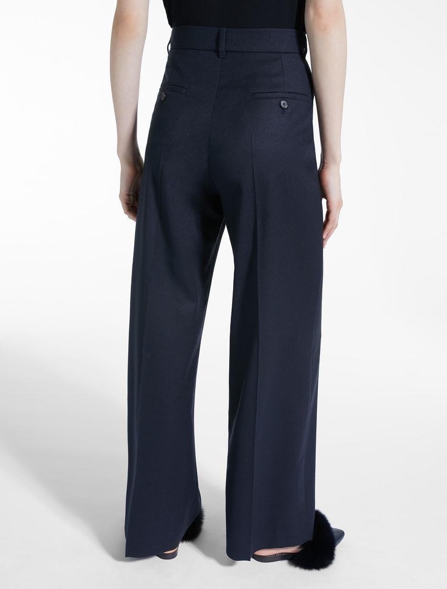 Wool flannel trousers Weekend Maxmara