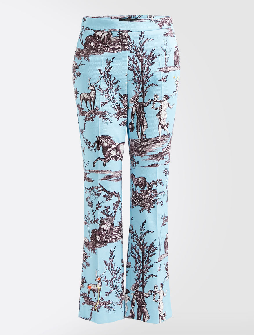 Trophy Day - Cotton pique trousers Weekend Maxmara