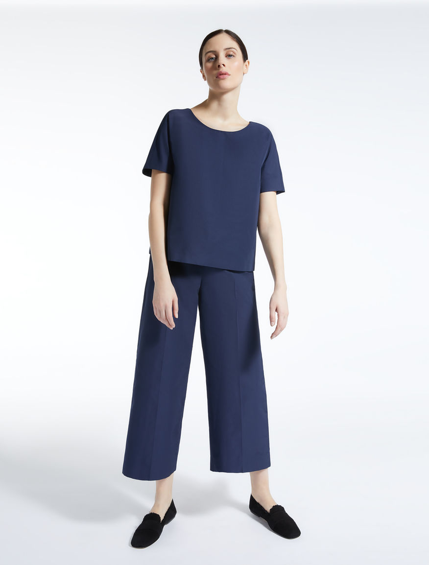 Cotton twill blouse Weekend Maxmara