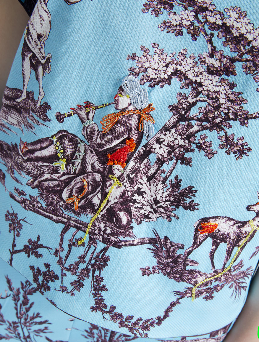 Trophy Day - Cotton pique blouse Weekend Maxmara
