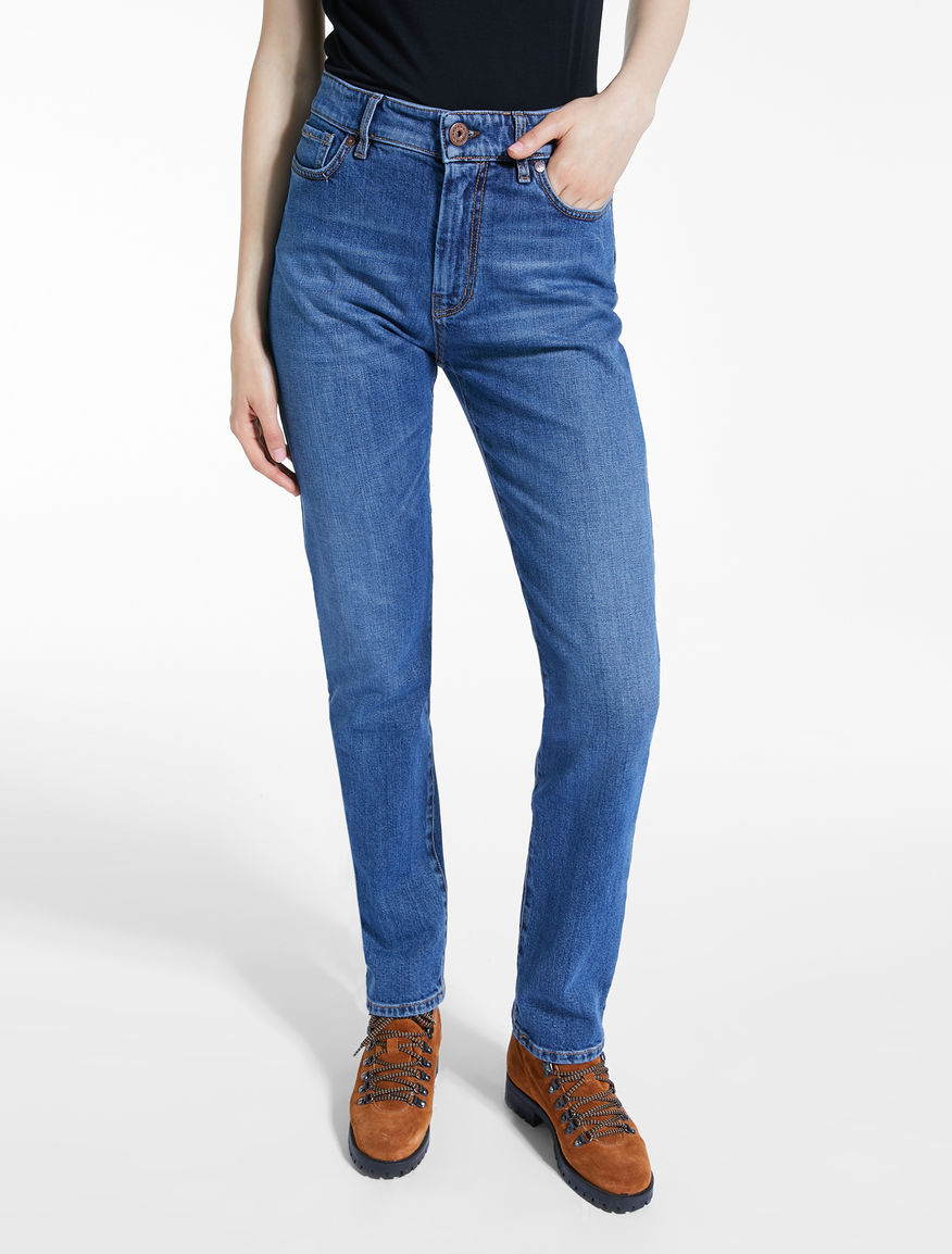 Cotton denim jeans Weekend Maxmara