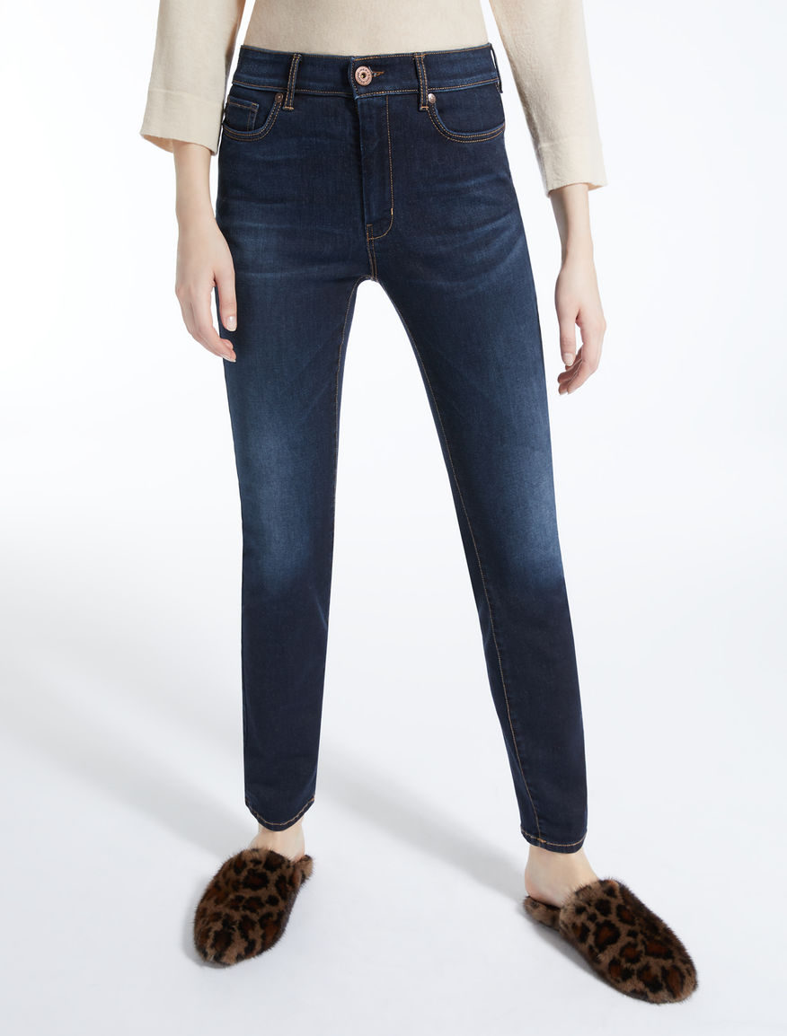 Jeans skinny fit in denim Weekend Maxmara