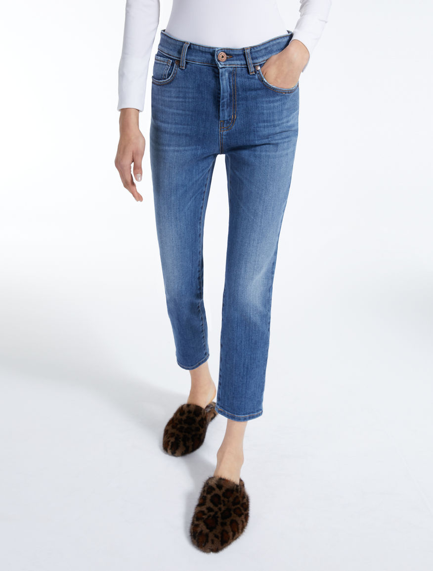 Straight-fit denim jeans Weekend Maxmara