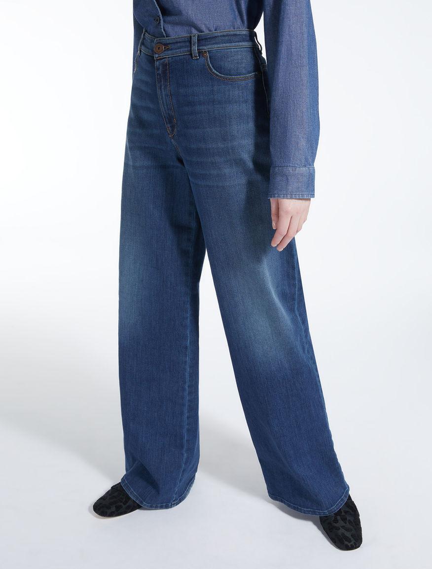 Denim palazzo jeans Weekend Maxmara
