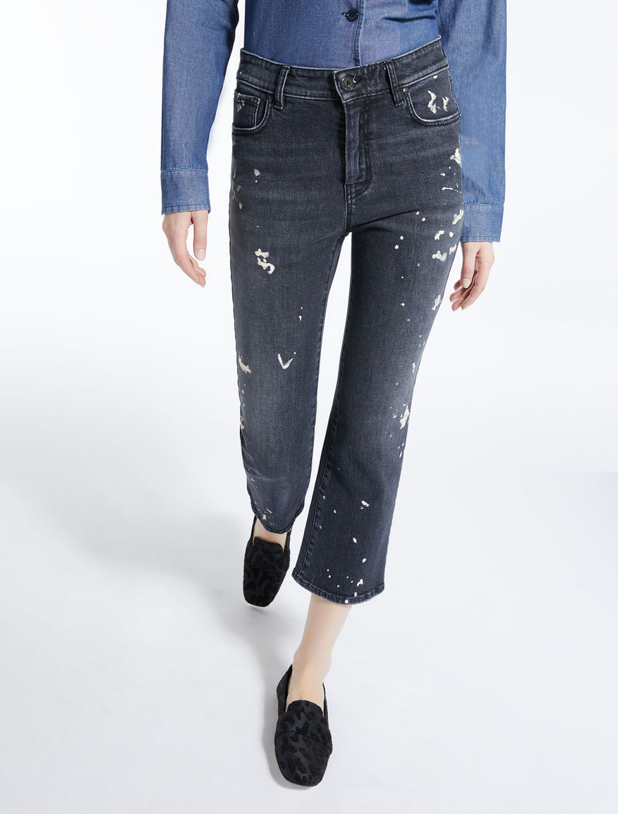 Jeans svasato in denim Weekend Maxmara