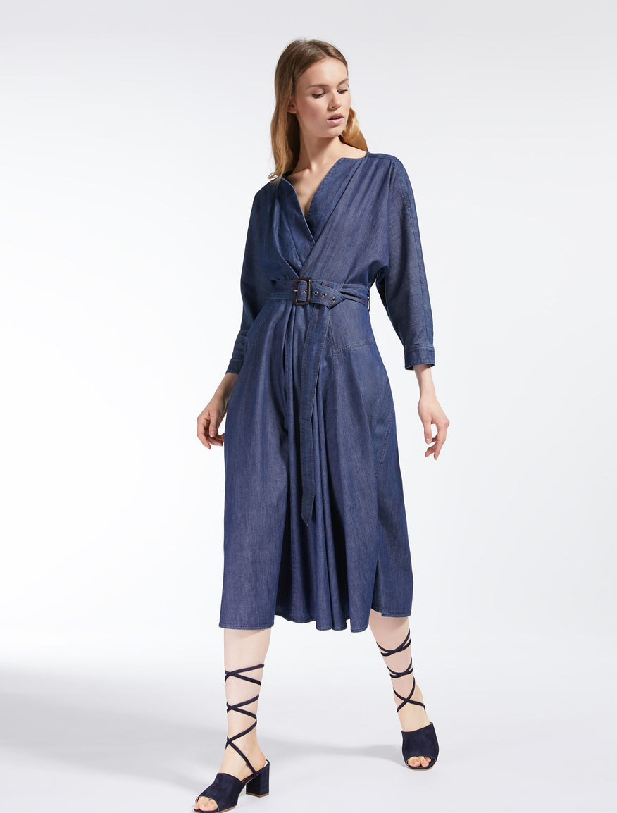 Abito in denim di cotone Weekend Maxmara