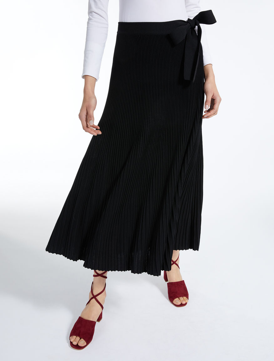 Pleated viscose skirt Weekend Maxmara