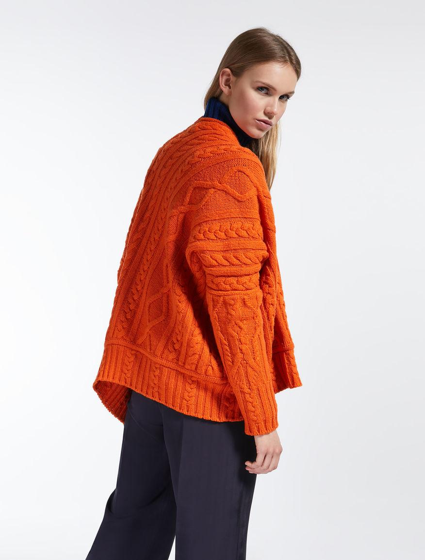 Cardigan in filato di lana Weekend Maxmara