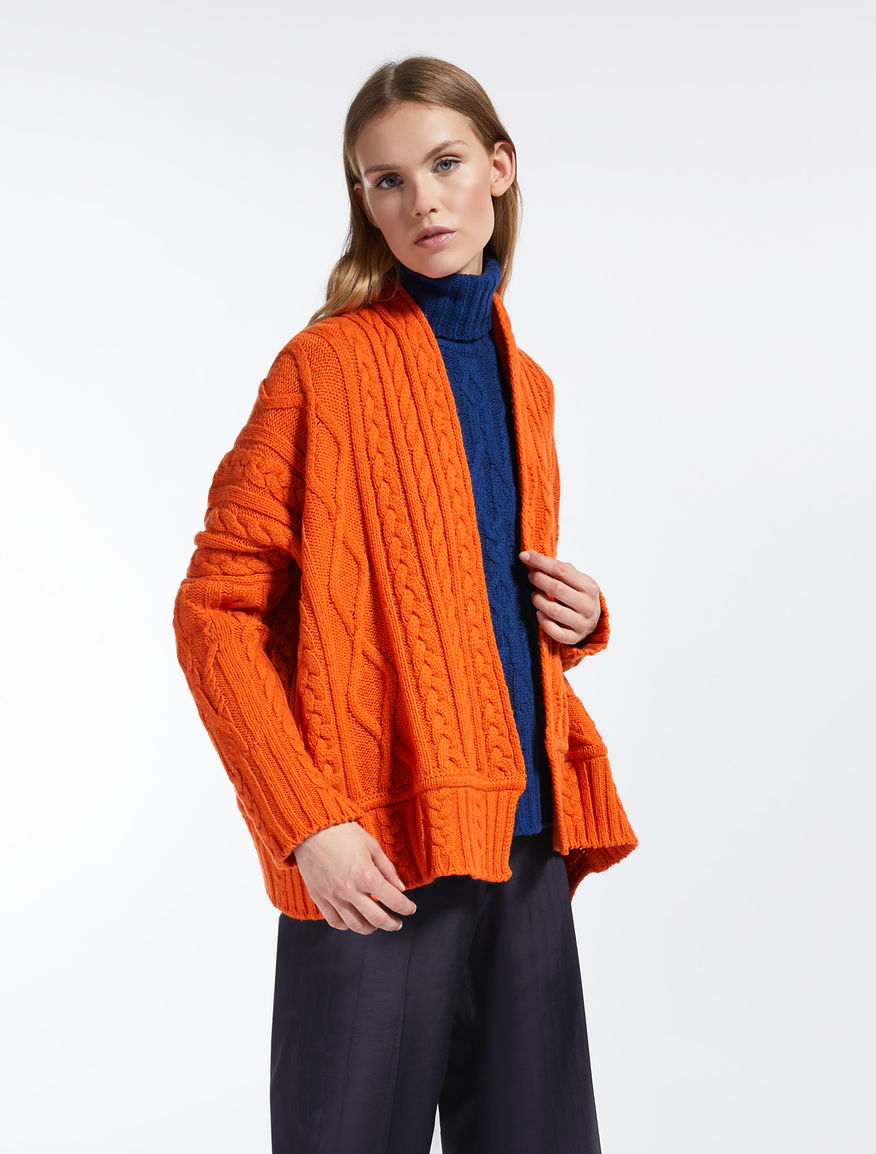 Cardigan in filato di lana Weekend Maxmara