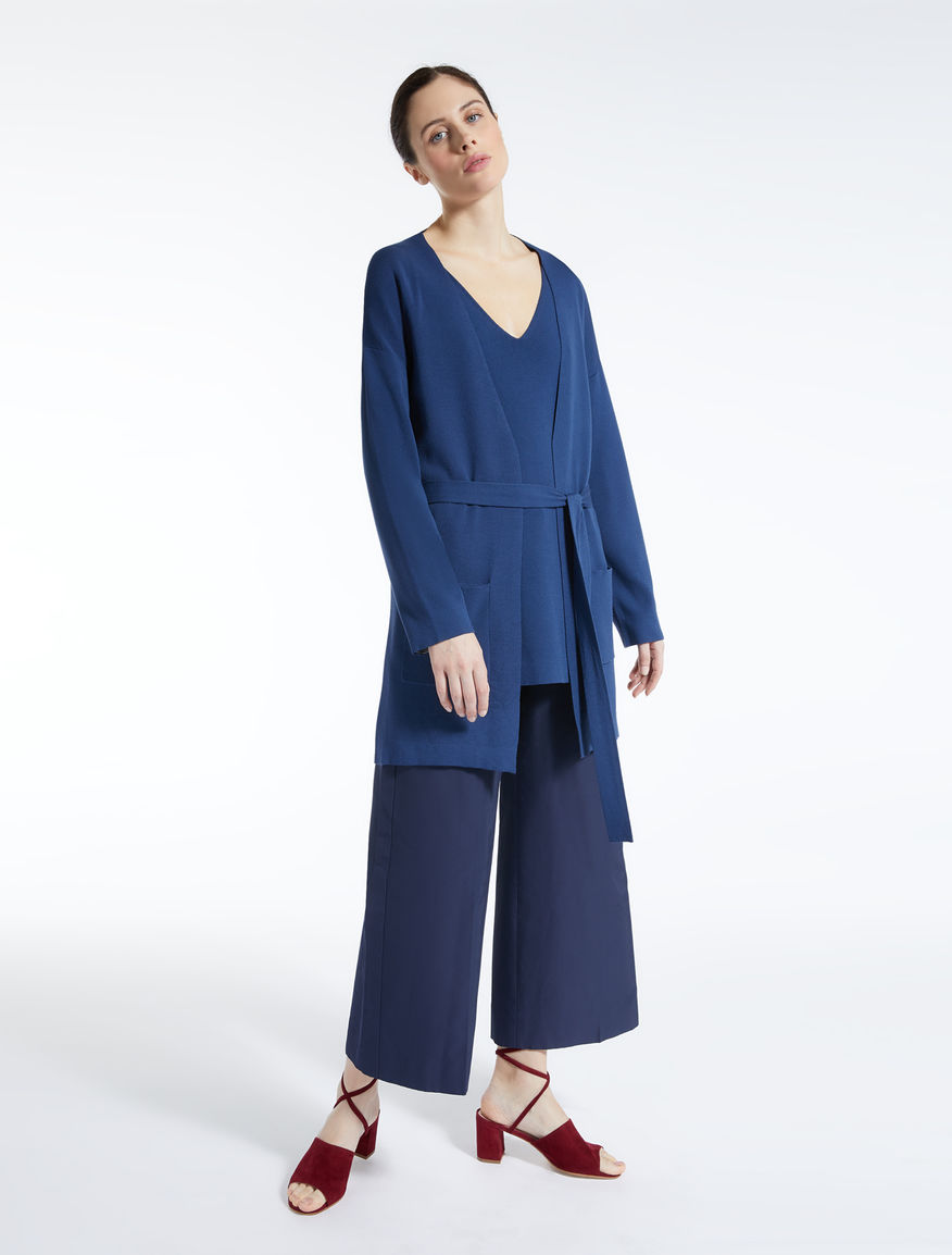 Cardigan in filato di viscosa Weekend Maxmara