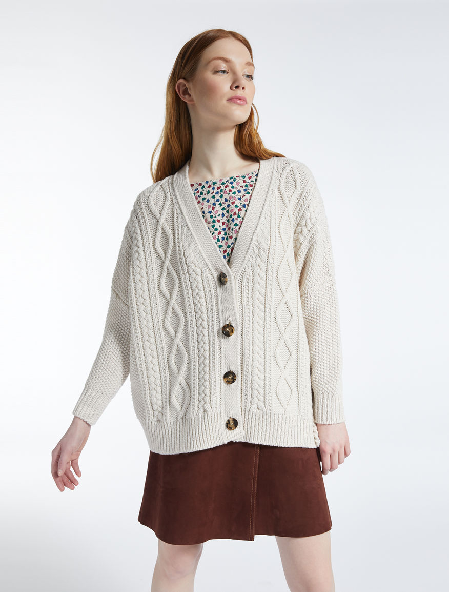 Cardigan in lana Weekend Maxmara