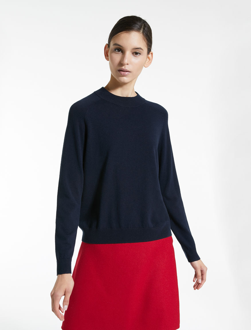 Silk and wool yarn jumper Weekend Maxmara