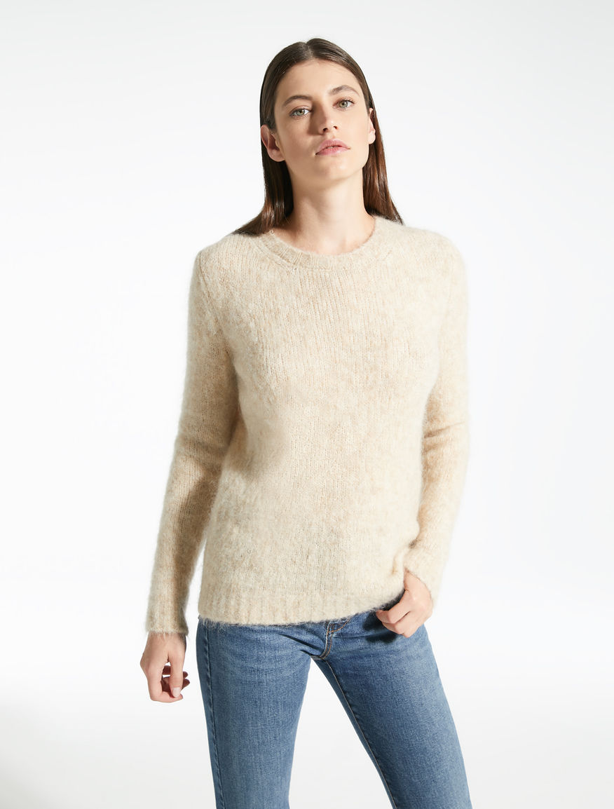 Mohair and wool yarn pullover Weekend Maxmara