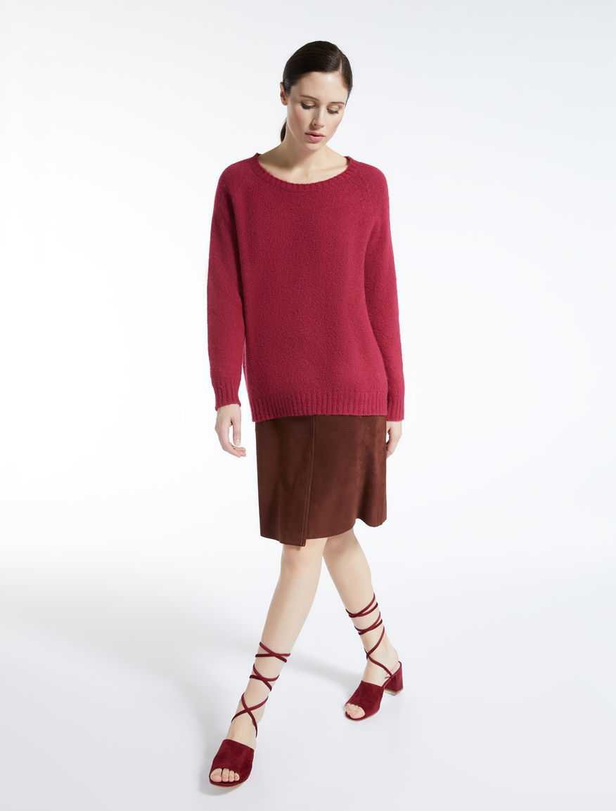 Alpaca, mohair and cotton jumper Weekend Maxmara